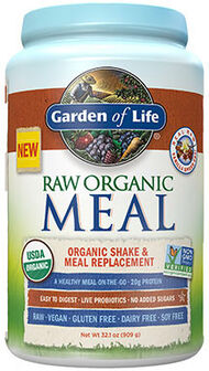 Garden Of Life RAW Organic Meal Vanilla Spiced Chai 32.1 oz. 32 oz. Powder