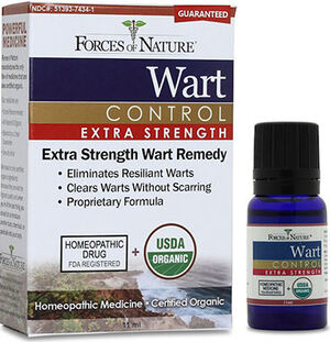 Forces of Nature Wart Control Extra Strength 11 ml. Liquid