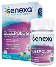 Genexa® Sleepology® 60 Tablets Vanilla Lavender
