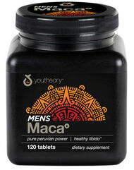 Youtheory Men's Maca 120 Tablets 750mg.
