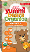 Hero Nutritional Yummi Bears Organics® Vitamin C Gummies 60 Gummies Orange
