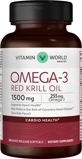 Omega-3 Red Krill Oil 1500mg