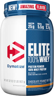 Dymatize Elite 100% Whey Protein 2 lbs. Chocolate Peanut Butter 2 lbs. Powder