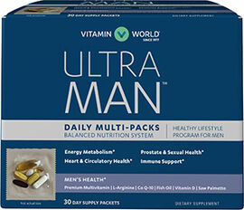 Ultra Man™ Daily Multivitamin Packs