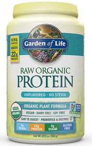 Garden Of Life RAW Organic Protein Unflavored 22 oz. Powder