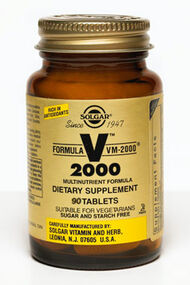 Solgar Formula VM-2000 Multivitamins (reactivation) 90 Tablets
