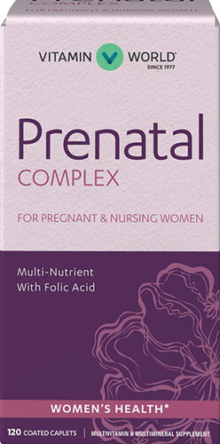 Vitamin World Prenatal Complex