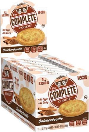 Lenny & Larry's Inc. The Complete Cookie Snickerdoodle 12 Packs