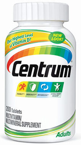 Centrum® Adults Multivitamins 200 Tablets