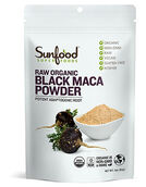 Sunfood™ Raw Organic Black Maca Powder 4 oz. Powder