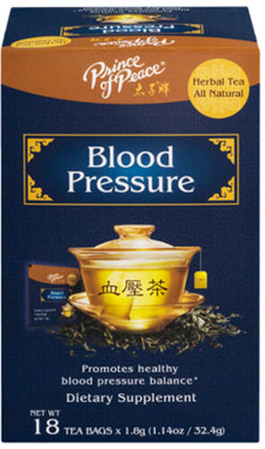 Prince of Peace Blood Pressure Herbal Tea 18 Tea Bags