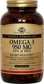 Solgar Triple Strength Omega-3 950 mg. 100 Softgels