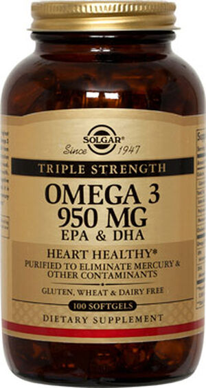 Triple Strength Omega-3 950 mg, , hi-res