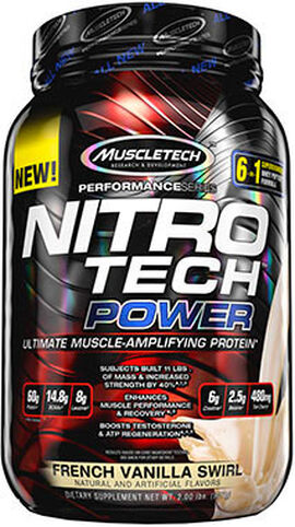 Nitro Tech™ Power Whey Protein French Vanilla Swirl