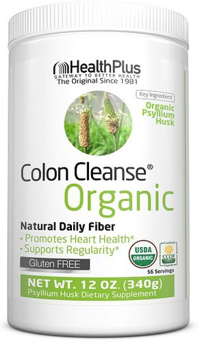 Health Plus Organic Colon Cleanse 12 oz. Powder