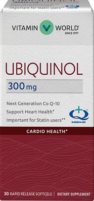 Vitamin World Ubiquinol 300 mg Co Q-10