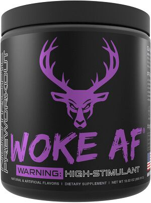 DAS Labs Bucked Up Woke AF Pre Workout Grape Gainz 30 servings