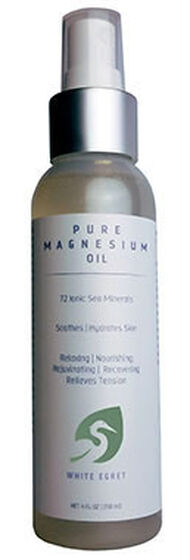 White Egret Pure Magnesium Oil 4 oz. Liquid
