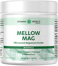 Mellow Mag Effervescent Magnesium Powder Cherry
