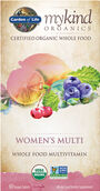 Garden Of Life mykind Organics Women's Multivitamins 60 Tablets