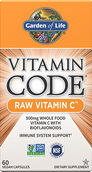 Garden of Life Vitamin Code® Raw Vitamin C