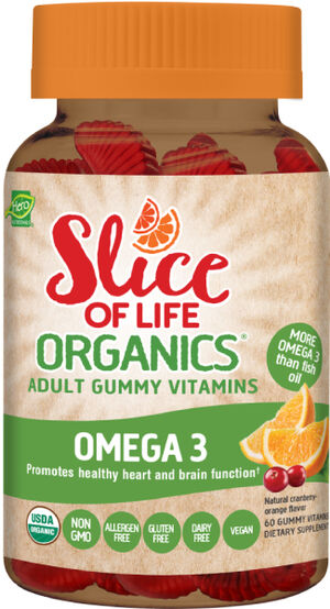 Hero Nutritional Slice of Life Organics® Omega 3 Adult Gummy Vitamins