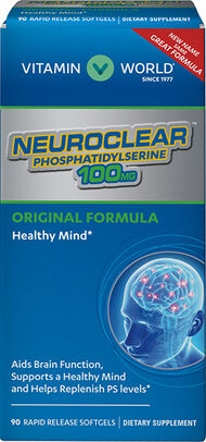 Vitamin World Neuro-PS 100 mg. 90 Softgels