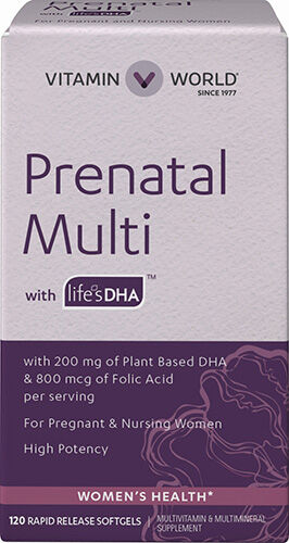Vitamin World Prenatal Multi with DHA