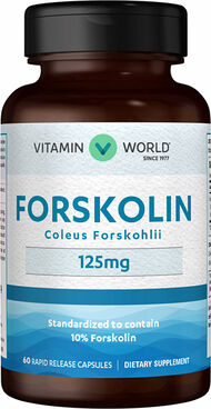 Vitamin World Forskolin 120 mg. 60 Capsules