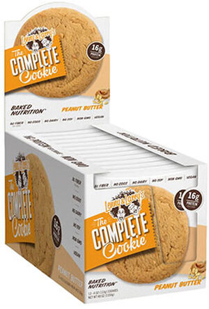 Lenny & Larry's Inc. The Complete Cookie Peanut Butter 12 Packs