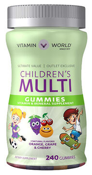 Children's Multivitamin Gummies, 240, hi-res