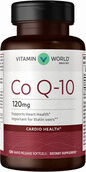 Vitamin World Co Q-10 120 mg.