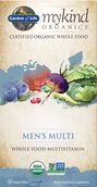 Garden of Life mykind Organics Men's Multivitamins 60 tablets