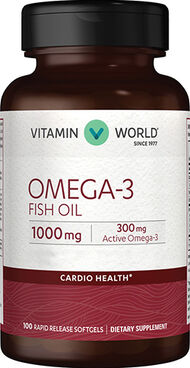Omega-3 Fish Oil 1000 mg., 100, hi-res