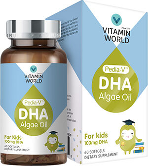 Pedia-V DHA Algae Oil for Kids
