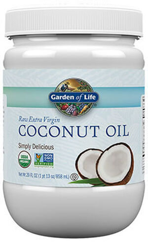 Garden Of Life Raw Extra Virgin Coconut Oil 29 oz. 29 oz. Liquid