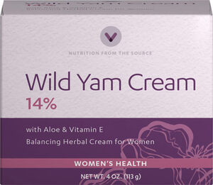 Vitamin World Wild Yam Cream 4 oz. Cream