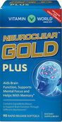 Vitamin World NeuroClear™ Gold Plus 90 softgels