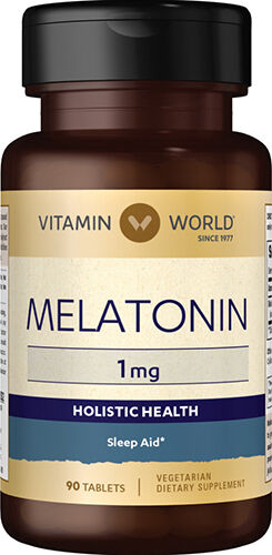 Vitamin World Melatonin 1 mg. 90 Tablets