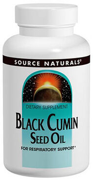 Naturals Black Cumin Seed Oil 1 gm. 120 Softgels