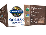 Garden of Life Organic GOL Protein Bars Chocolate Sea Salt