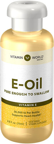 Vitamin World Vitamin E Oil 30000 IU 2.5 oz. Liquid
