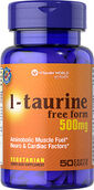 Vitamin World L-Taurine 500 mg. 50 Caplets
