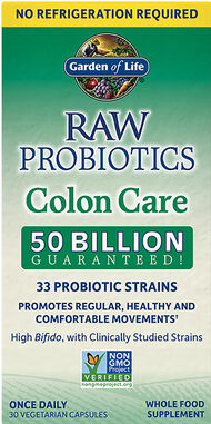 Garden of Life Raw Probiotics Colon Care Shelf Stable