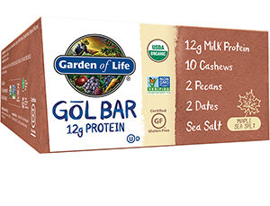Garden of Life Organic GOL Protein Bars Maple Sea Salt
