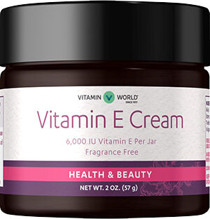 Vitamin E Cream 6000 IU