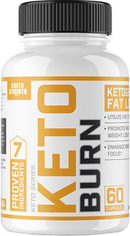 Sheer Strength® Labs Keto Burn 60 Capsules