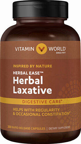 Vitamin World Herbal Laxative 250 Capsules