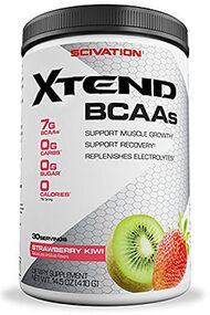 Scivation Xtend BCAAs Strawberry Kiwi 14.5 oz. Powder
