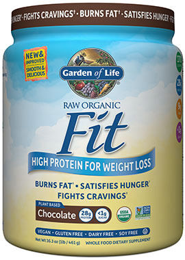RAW Organic Fit Protein Chocolate 16 oz.